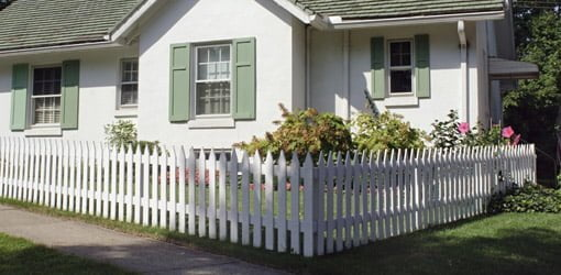 install white picket fence 2