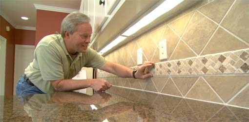 how to install a ceramic tile backsplash today 39 s homeowner