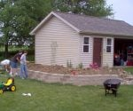 Winning shed in contest.