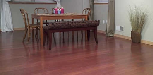 Bamboo floor different shades bamboo flooring for Sustainable cork flooring