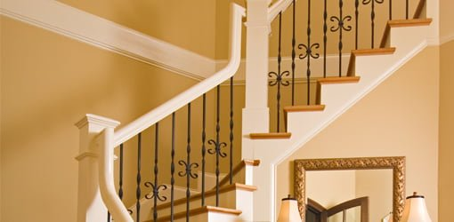 How to Paint a Stairwell : Todayu0026#39;s Homeowner