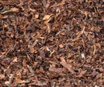 Mulch made from coca beans.
