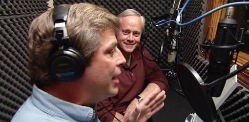 Allen Lyle and Danny Lipford on Today's Homeowner radio show.