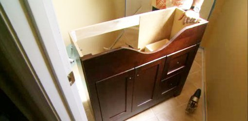 How Install Bathroom Vanity Today Homeowner