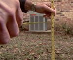 measuring to stop water damage on a foundation