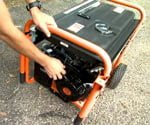 how to setup and maintain a portable generator