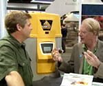 Allen Lyle with Ed Begley Jr.