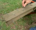 How to Reinforce a Wooden Post Set in Concrete