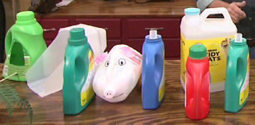 Reusing and Recycling Plastic Containers