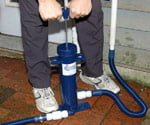 Innovative Pump Unclogs AC Condensation Drain Lines