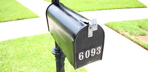 how high should a mailbox be 3