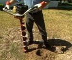 motorized auger