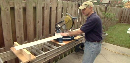 How To Make A Portable Work Table For A Miter Saw Today