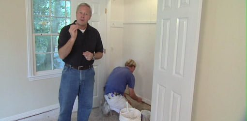 Danny Lipford explaining how to paint a room