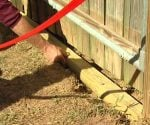 Tip for Keeping Your Dog from Digging Under a Fence Gate