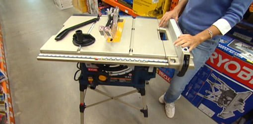 Ryobi Table Saw With Quickstand Today S Homeowner