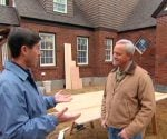 Paint contractor Steve Carey talking with Danny Lipford.