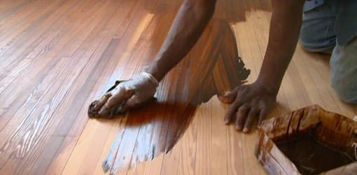 Staining Heart Pine Floors In The Kuppersmith Project