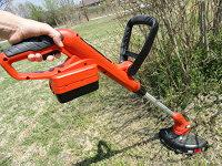 Cordless rechargeable string timmer