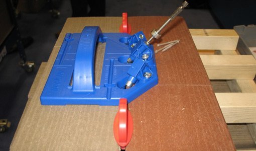 Hidden fastener deck jig from Kreg tools