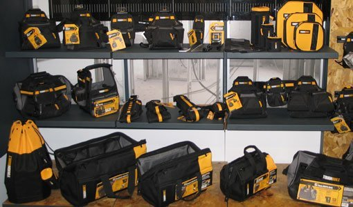 Tool belts and bags from ToughBuilt