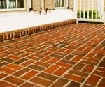 Applying Brick Pavers to a Concrete Slab Patio in a Cold Climate