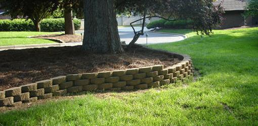 How To Align Blocks In A Curved Retaining Wall Today S