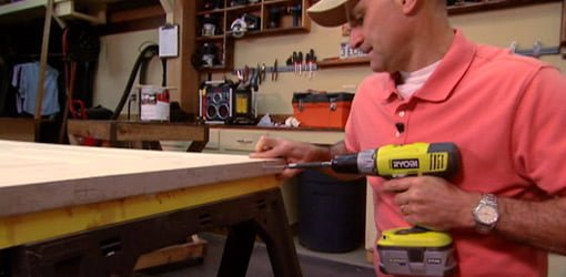 How To Paint Both Sides Of A Door On Sawhorses Today S