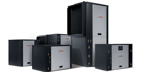 Bosch geothermal heat pump units