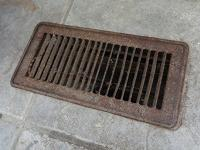 Floor duct cover