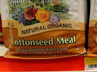 Cottonseed meal fertilizer