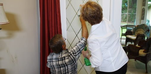 How To Apply Window Film To Glass Doors Today S Homeowner