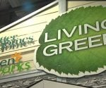 Sign for Living Green Tour