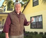 Danny Lipford in front of house that used synthetic building materials.