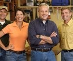Cast of Today's Homeowner: Joe Truini, Jodi Marks, Danny Lipford, and Allen Lyle