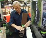 Danny Lipford demonstrates how to bend Flex-Drain drainage pipe.