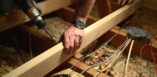 How To Build A Raised Storage Area In Your Attic Today S