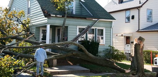 Dealing with storm damage to your home today 39 s homeowner - Simple ways finding siding storm damage ...