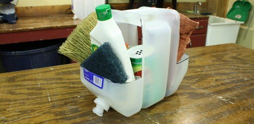 Plastic Water Container Tool Caddie