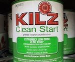 Can of Kilz Clean Start Paint Primer