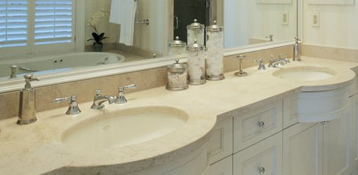Bathroom Countertop Surface Options : Bathroom vanity countertops are available in a range of materials ...