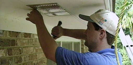 How To Install Soffit Eave Vents On Your Home Today S