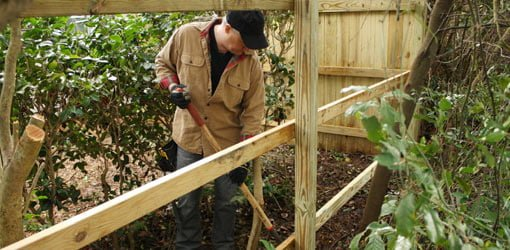 Build Diy Privacy Fence And Fire Pit For Your Yard Today Homeowner