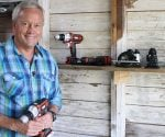 Danny Lipford with Black & Decker Matrix drill/driver cordless tool and attachments.