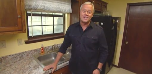 Danny Lipford in kitchen with inexpensive improvements.