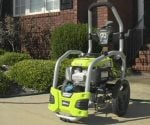 Ryobi gas powered pressure washer.