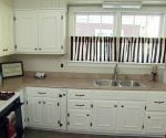 Remodeled kitchen after three day facelift.