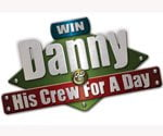 Win Danny and His Crew for a Day logo