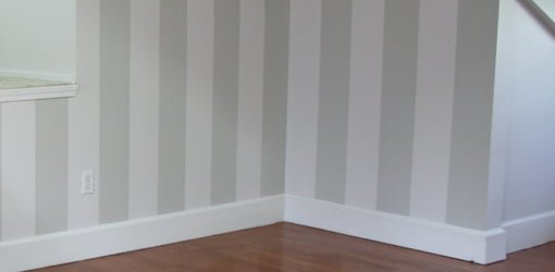 How to Layout and Paint Vertical Stripes on Interior Walls | Today's Homeowner