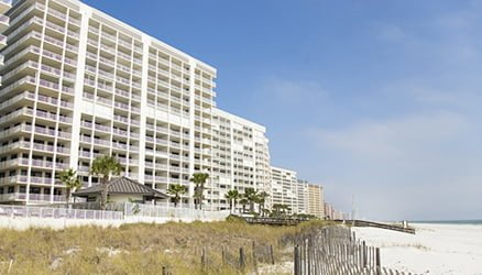 The Lipfords' condo in Orange Beach, Ala.